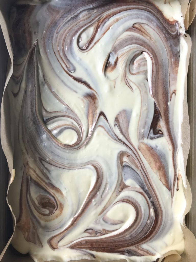 white chocolate cheesecake marble brownies recipe