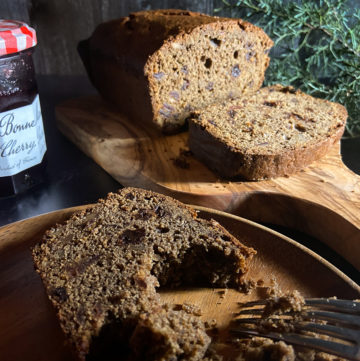 cherry date walnut buckwheat fruitcake recipe