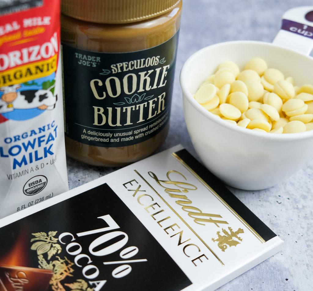 chocolate cookie butter truffles recipe