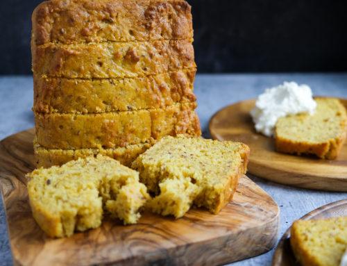 Dried Mango Bread (Pantry Recipe, Vegan)
