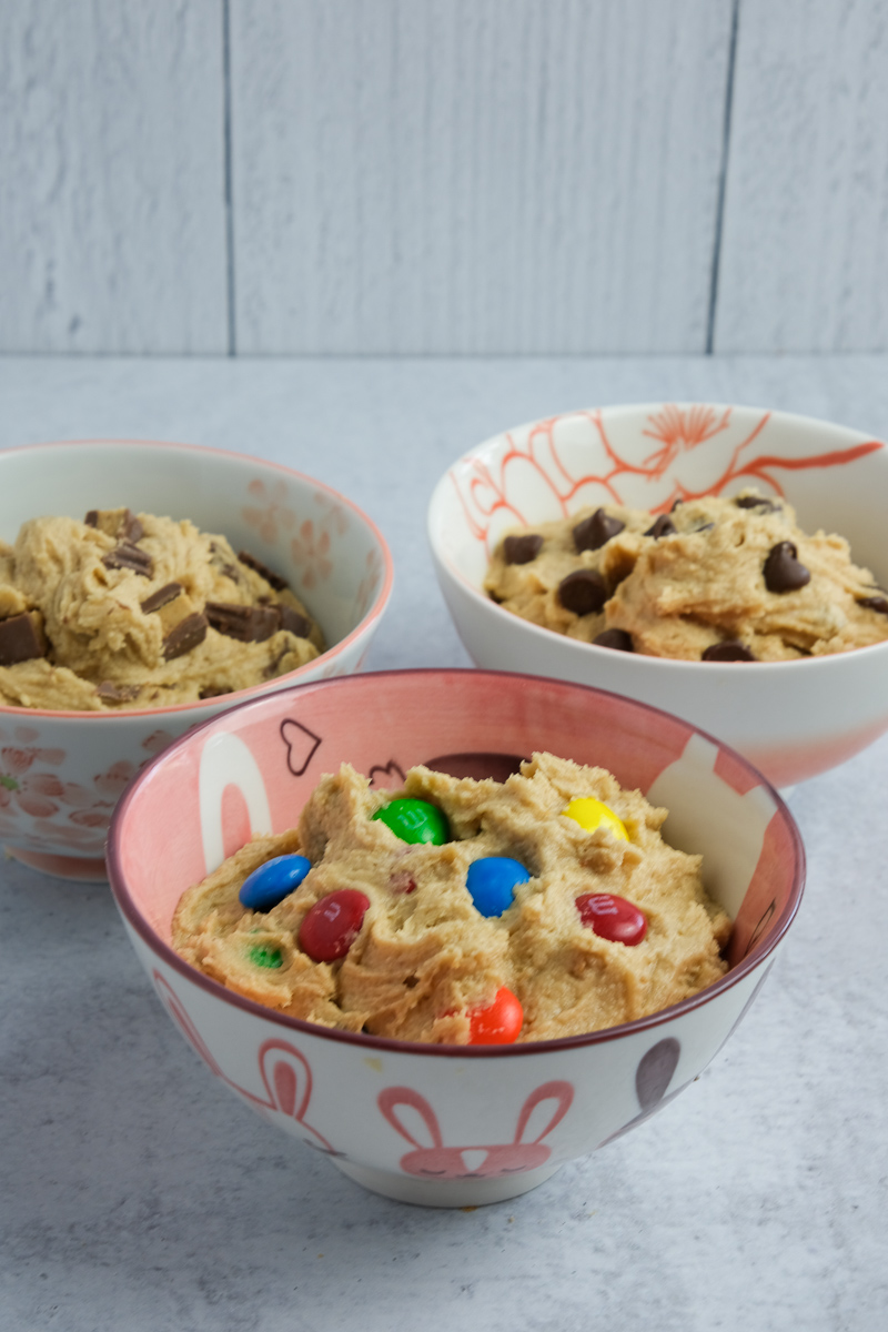 edible peanut butter cookie dough recipe