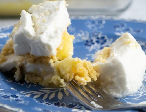 Lemon Coconut Icebox Cake