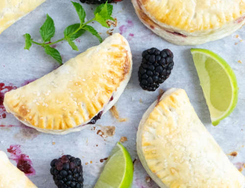 Blackberry Mojito Hand Pies