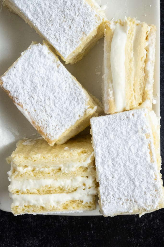 Bijela Pita Croatian Desserts Bakealong