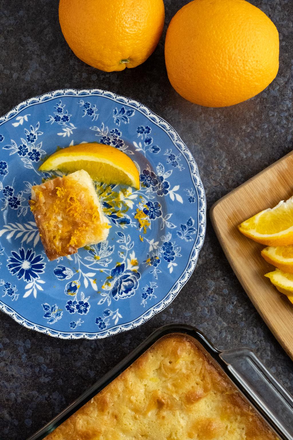 portokalopita orange cake greek dessert bakealong