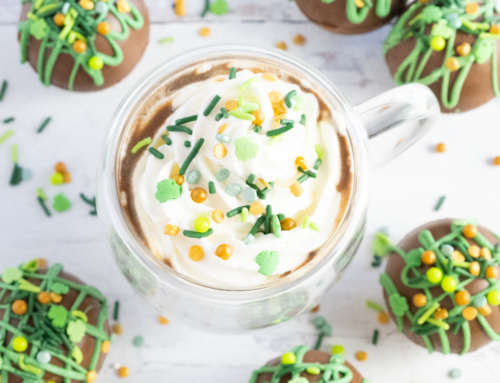 Irish Coffee Hot Chocolate Bombs